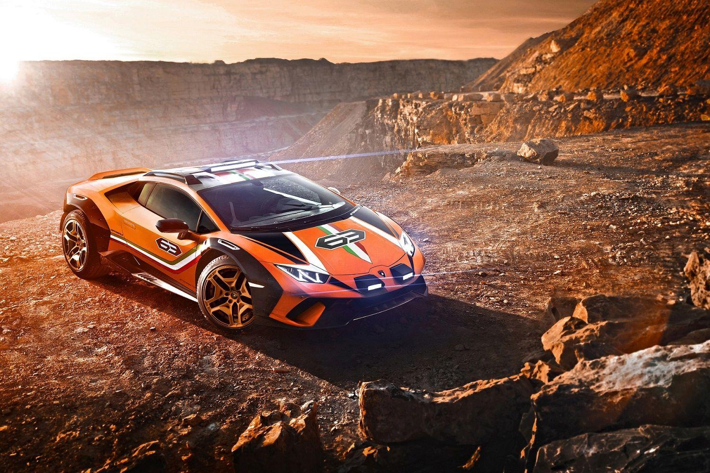 Lamborghini Unveils Super Car Designed For Off-roading