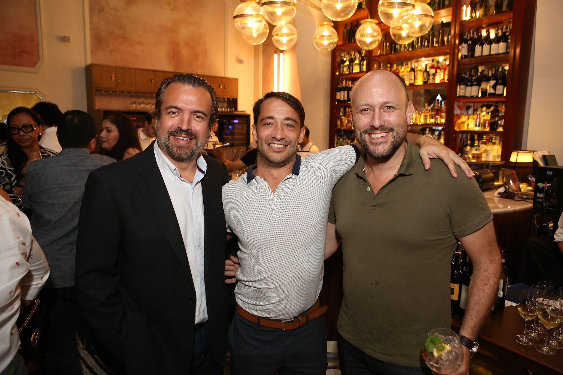 Alfredo Roca, Dani Aliaga, Simon Cote