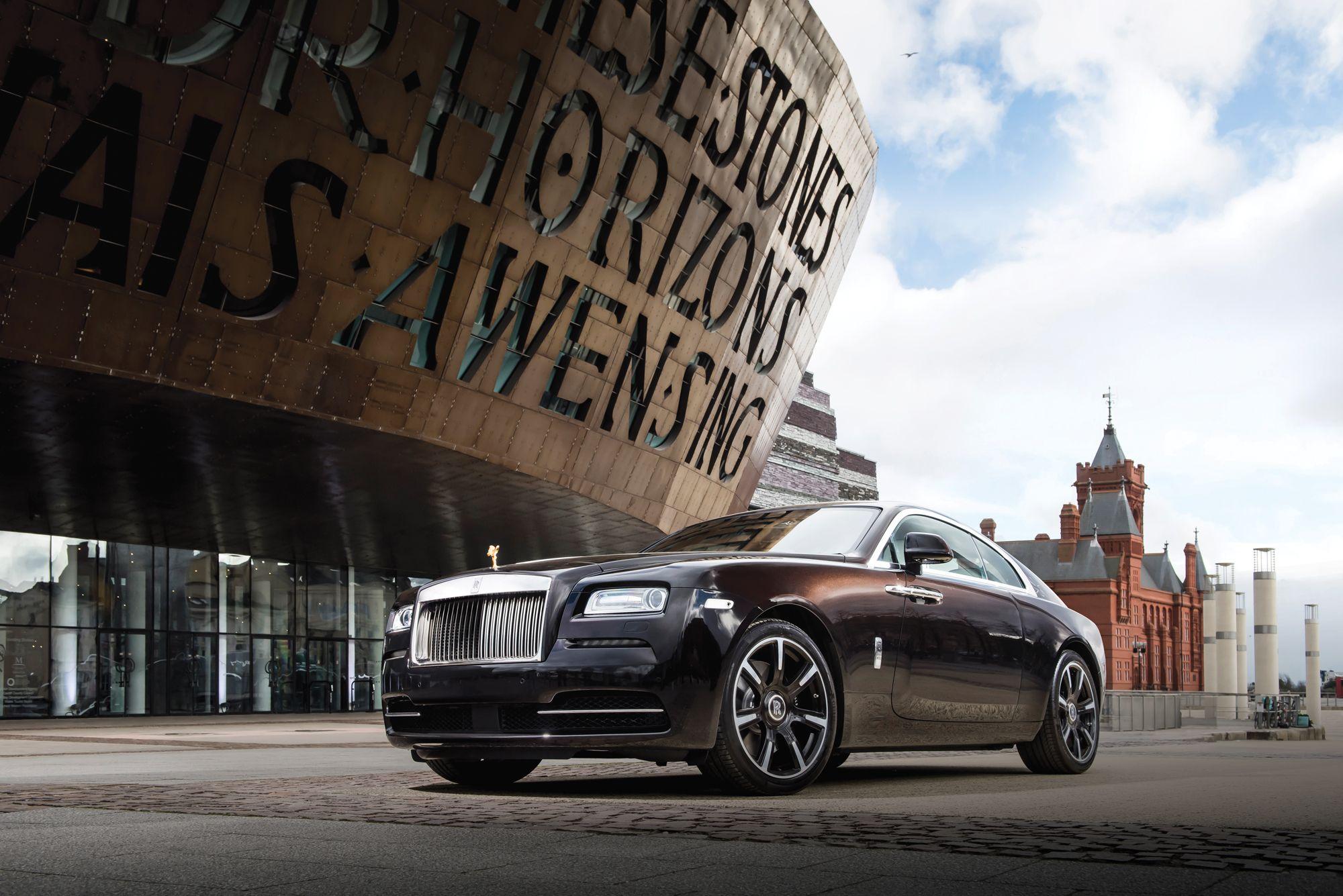 Rolls-Royce Wraith Inspired by British MusicPhoto: James Lipman / jameslipman.com