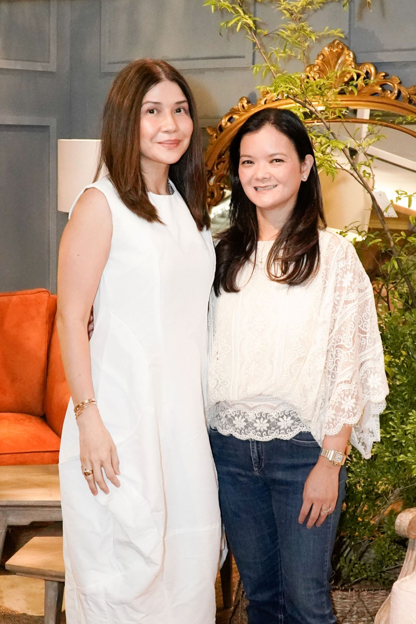 Sisters Pam Gonzales Lopez and Maricar Lopez Tiangco are the women behind Lady Scott Jones
