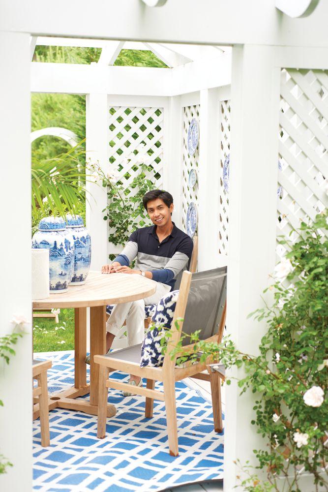 Designer Blue Carreon Opens the Doors to His Hampton Home