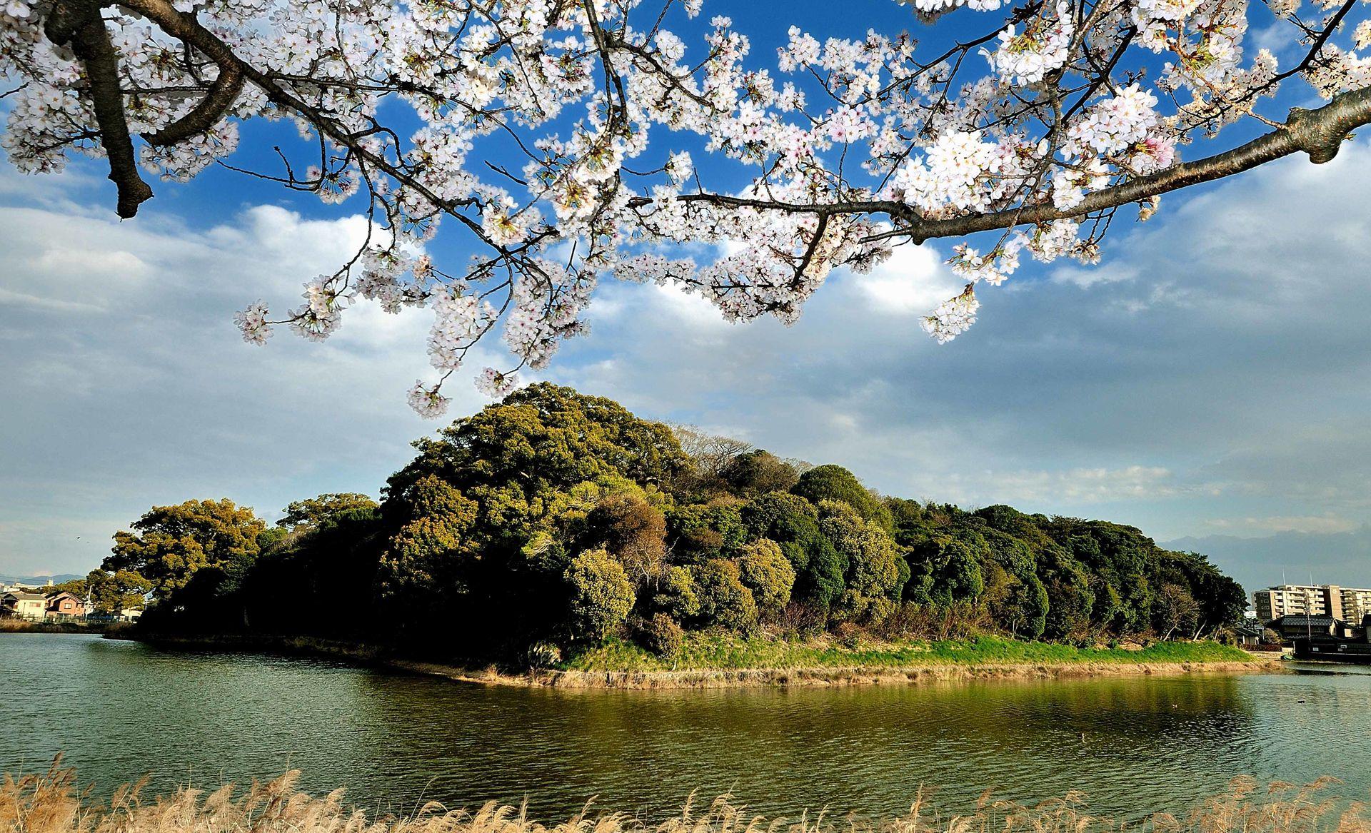 Gobyoyama Kofun, one of the Mounded Tombs of Ancient Japan (Image: Toshiyuki Yasuda)