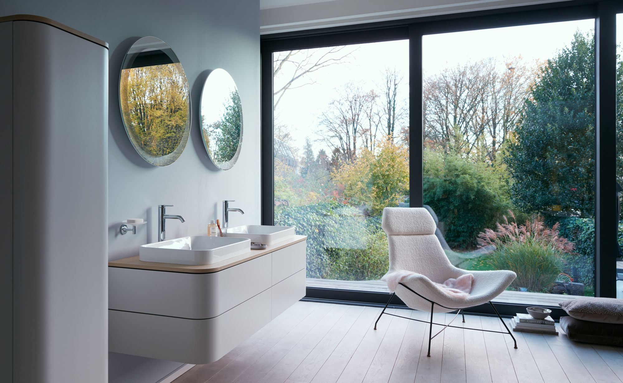 Duravit's Happy D.2 Plus Collection For A Contemporary Bathroom