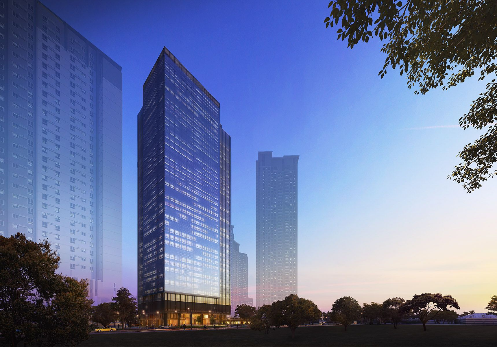 On The Rise: One Vertis Plaza