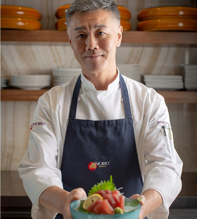 Nobu Manila Welcomes Its New Head Sushi Chef