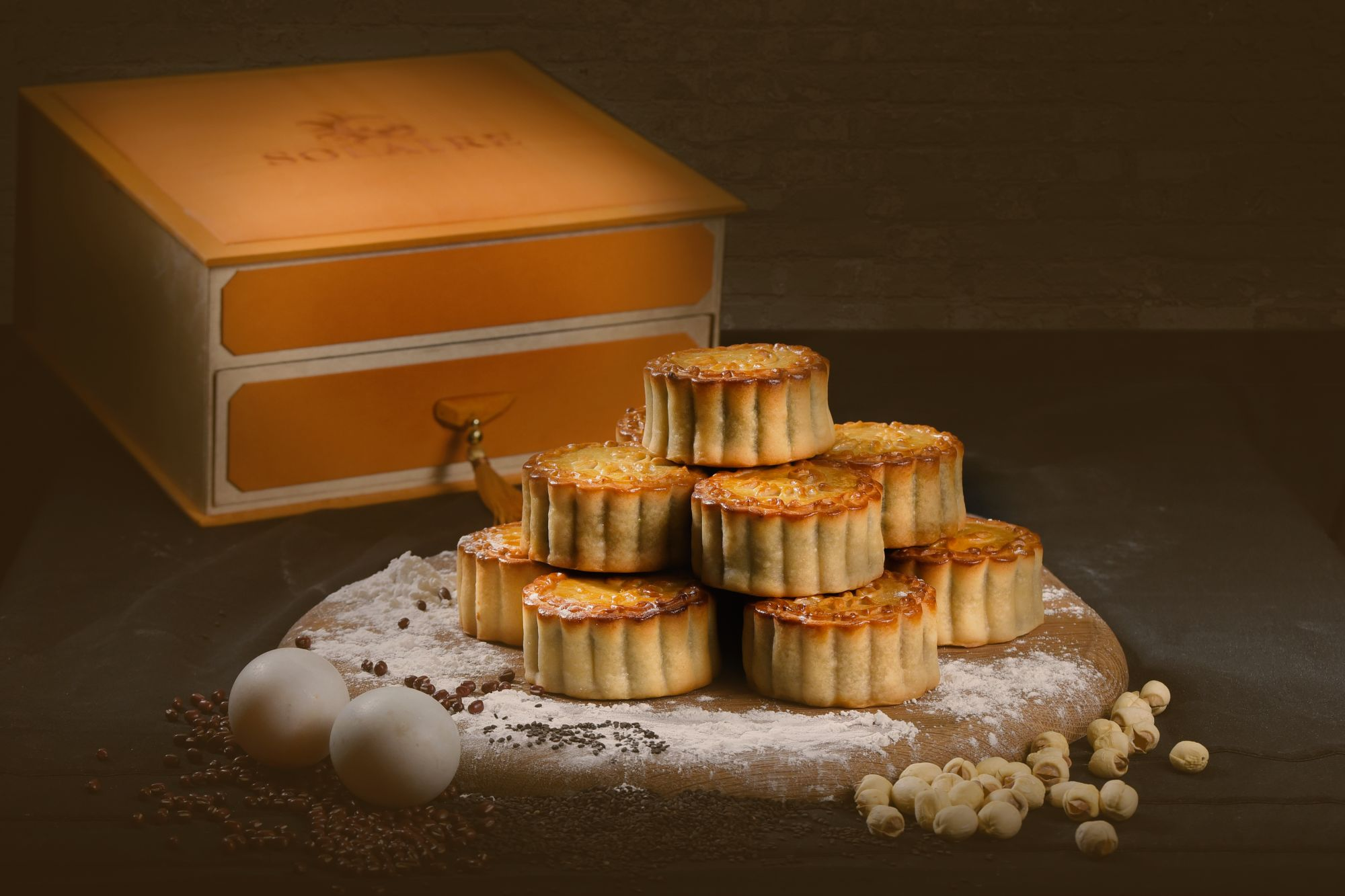 Solaire Celebrates The Mid-Autumn Festival With Special Homemade Mooncakes