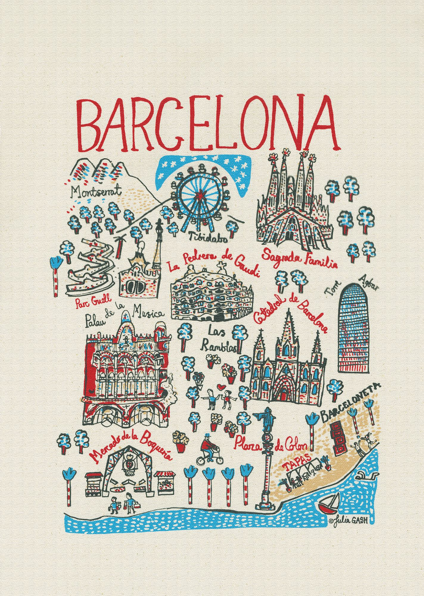 15 Places To Visit In Barcelona