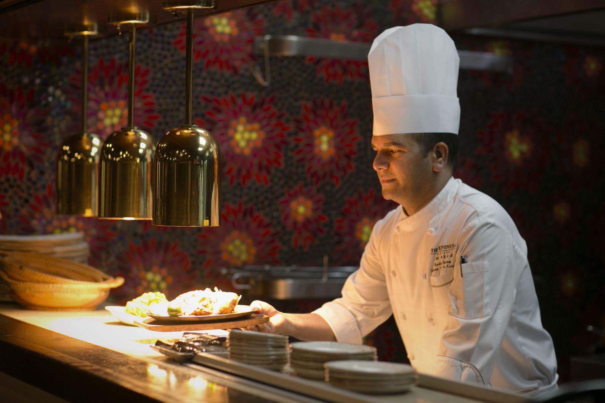 Chef's Table with Radhey Shayam