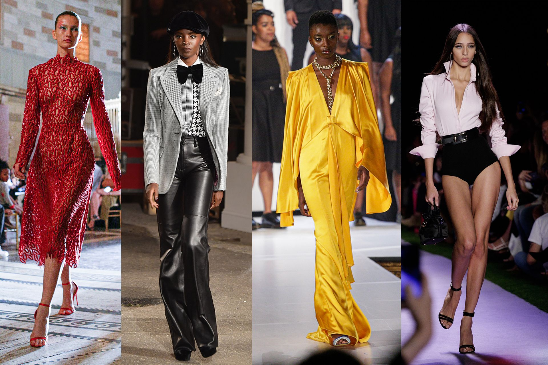 Grandiose Shows Mark The First Weekend Of New York Fashion Week