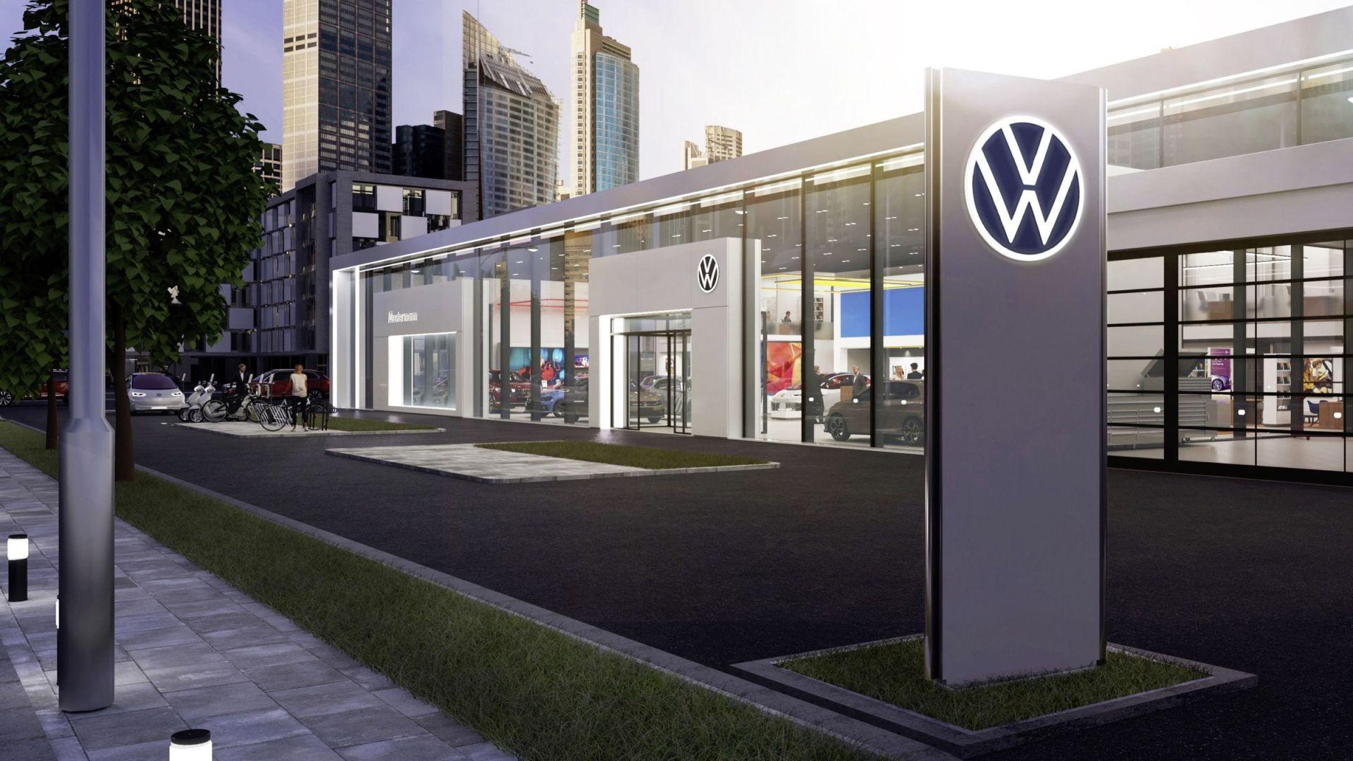 Volkswagen Kicks Off Dawn Of New Design Era With Updated Logo
