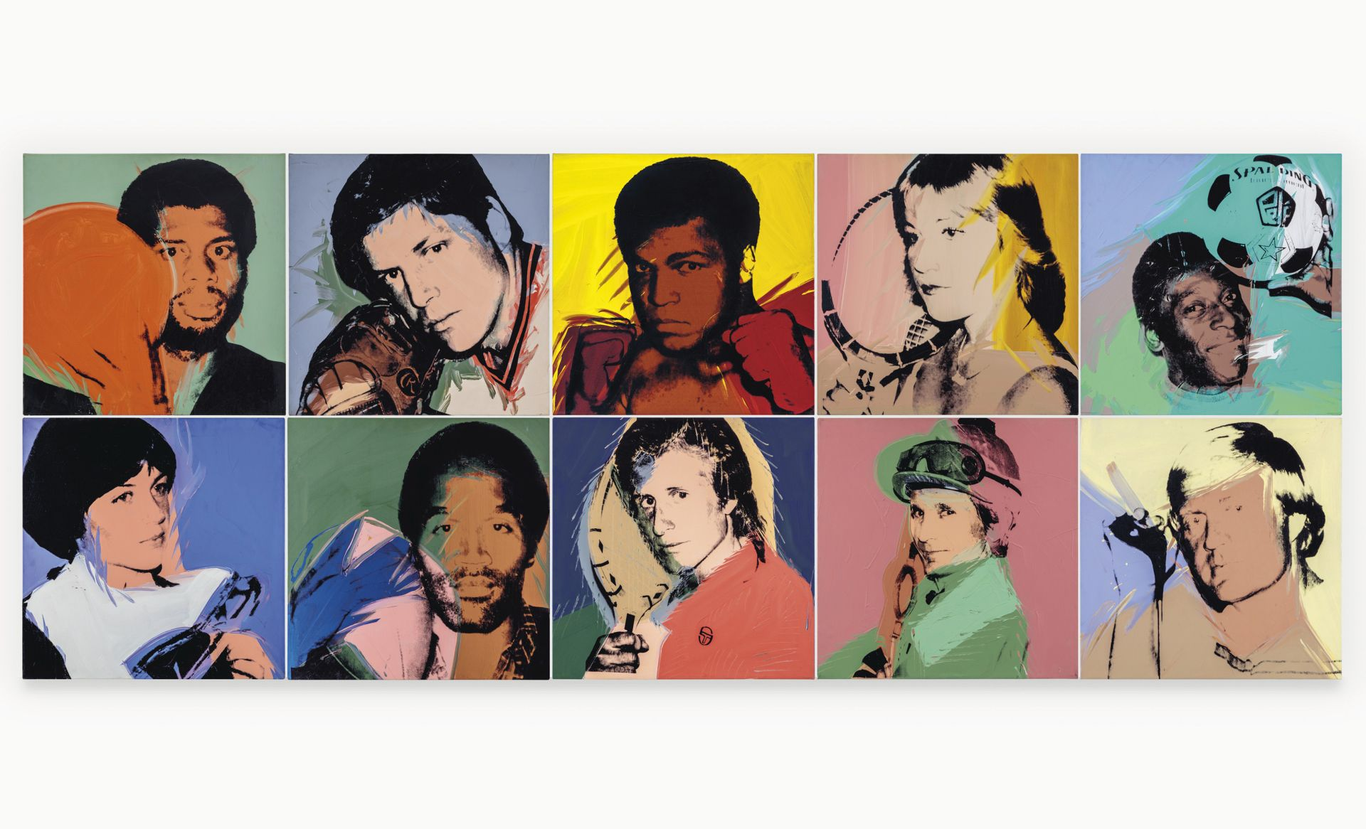 Andy Warhol's Entire 'Athletes' Series To Hit The Auction Block For The First Time