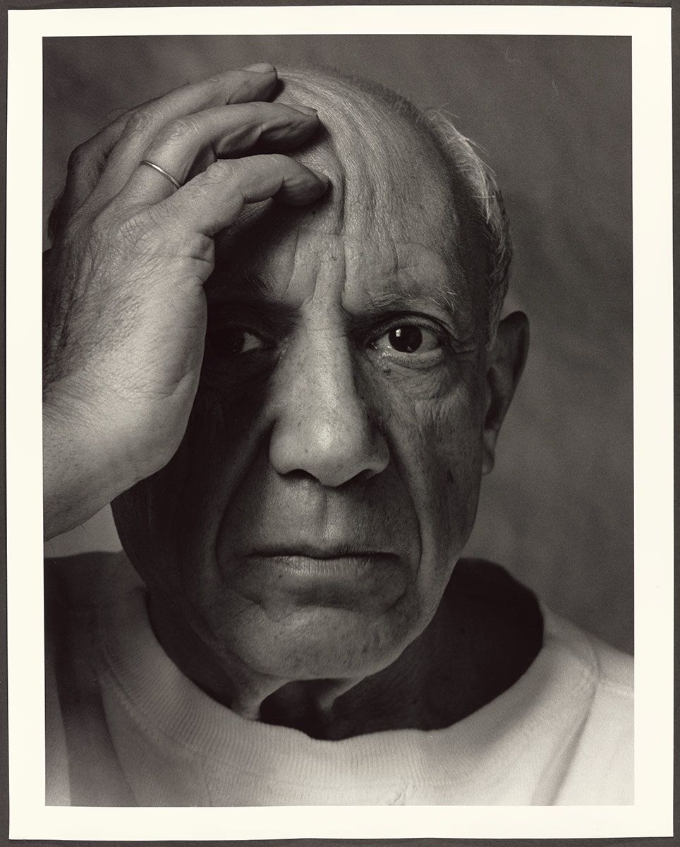 Arnold Newman, 'Pablo Picasso' (1954)  © Image Courtesy of the Art Gallery of Ontario