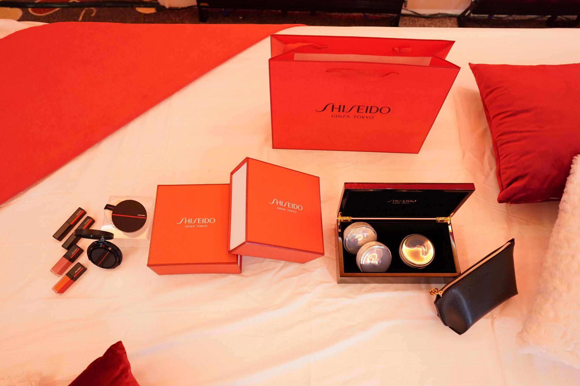 The Shiseido Beauty Room