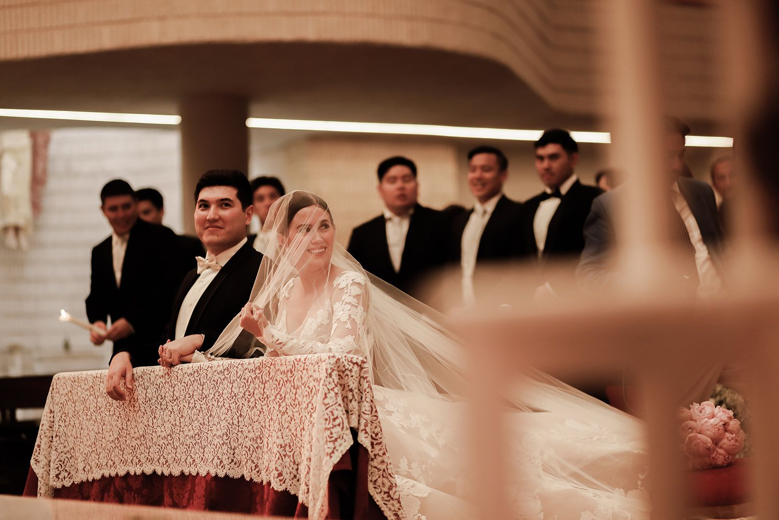 The Ties That Bind: Chris Imperial and Isa Palabyab Wed In Spain
