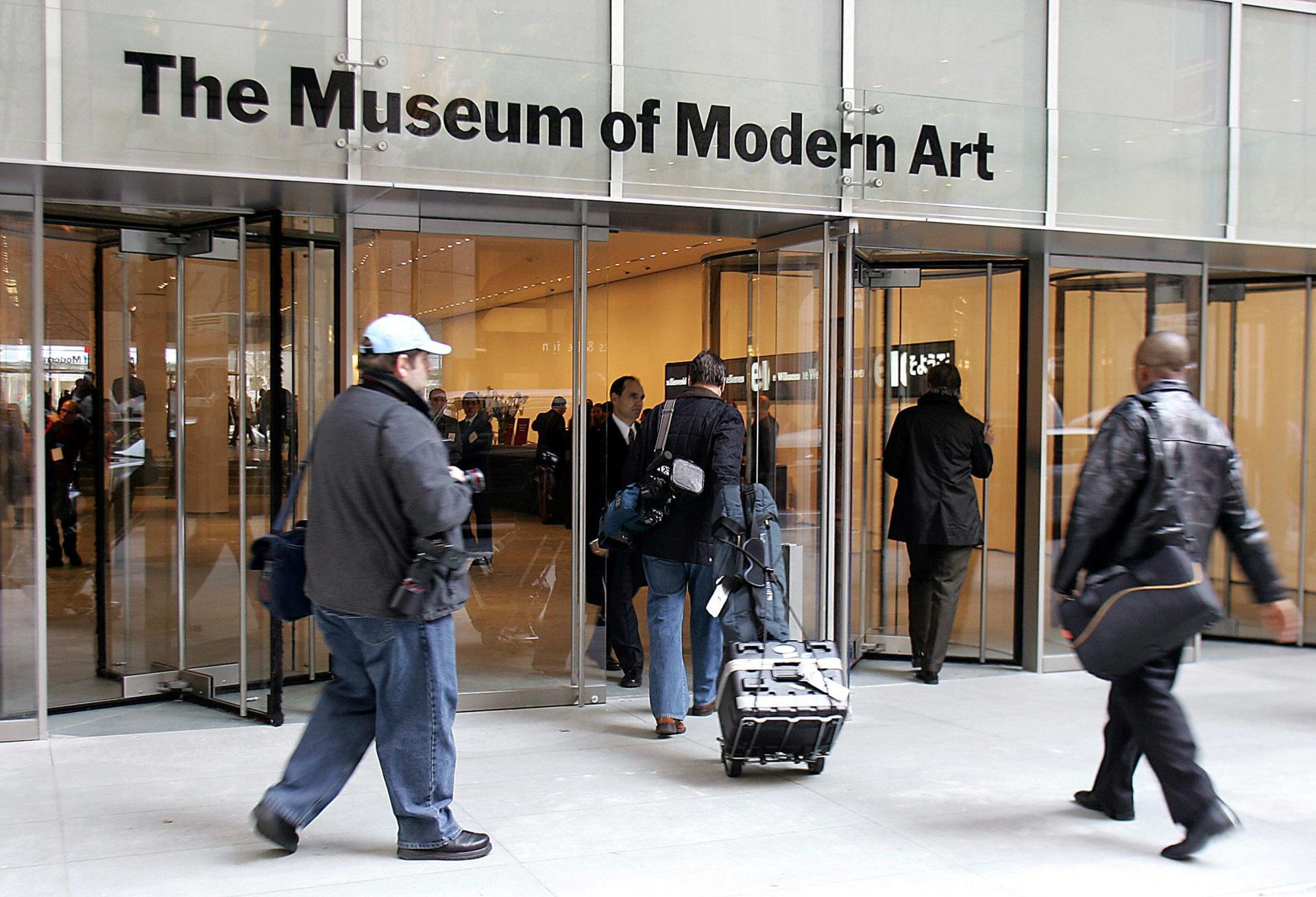 New York's heralded Museum of Modern Art reopens this month after a multi-million-dollar makeover  © DON EMMERT / AFP