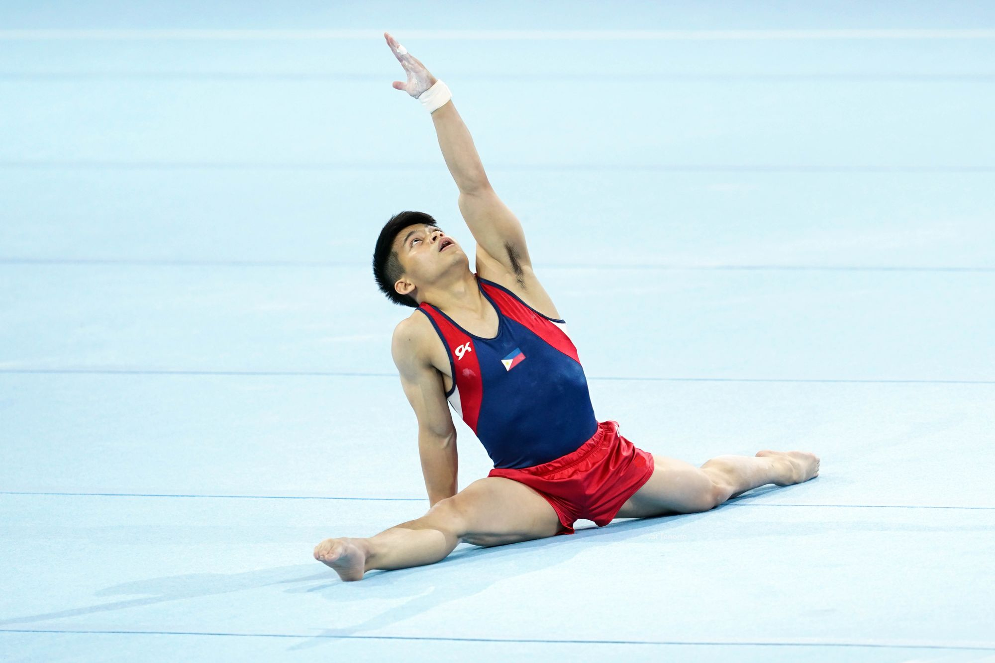 Young Filipino Gymnast Carlos Yulo Is The Philippines' First World Champion