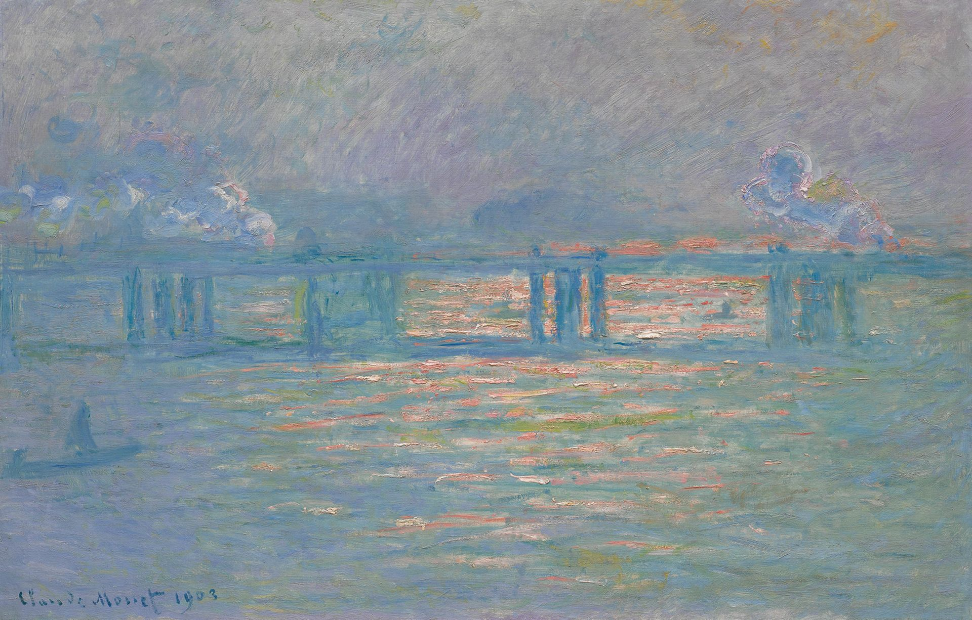 Claude Monet's 'Charing Cross Bridge' Could Fetch $30 Million At Sotheby's