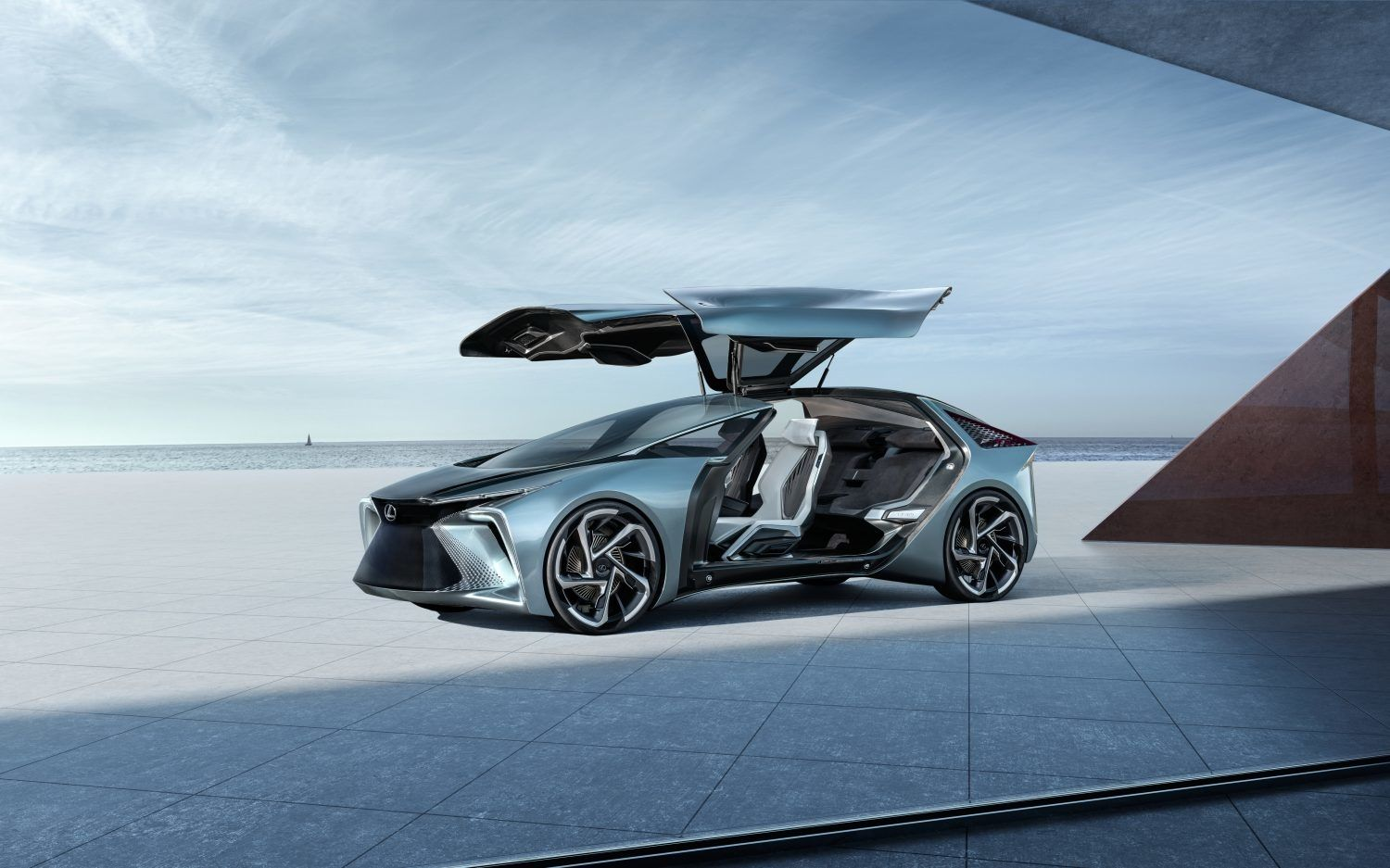 Lexus's EV Future May Look To In-Wheel Motors, Onboard Drone Support