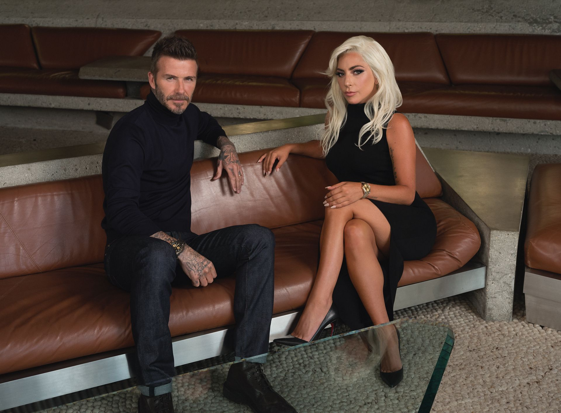 Lady Gaga And David Beckham On What It Takes To Break New Frontiers