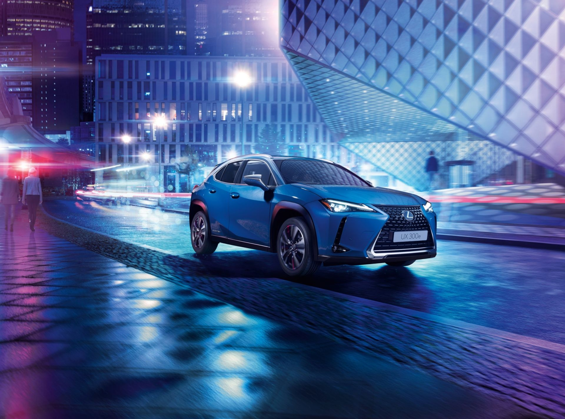 Lexus Launches Its First Ever All-Electric
