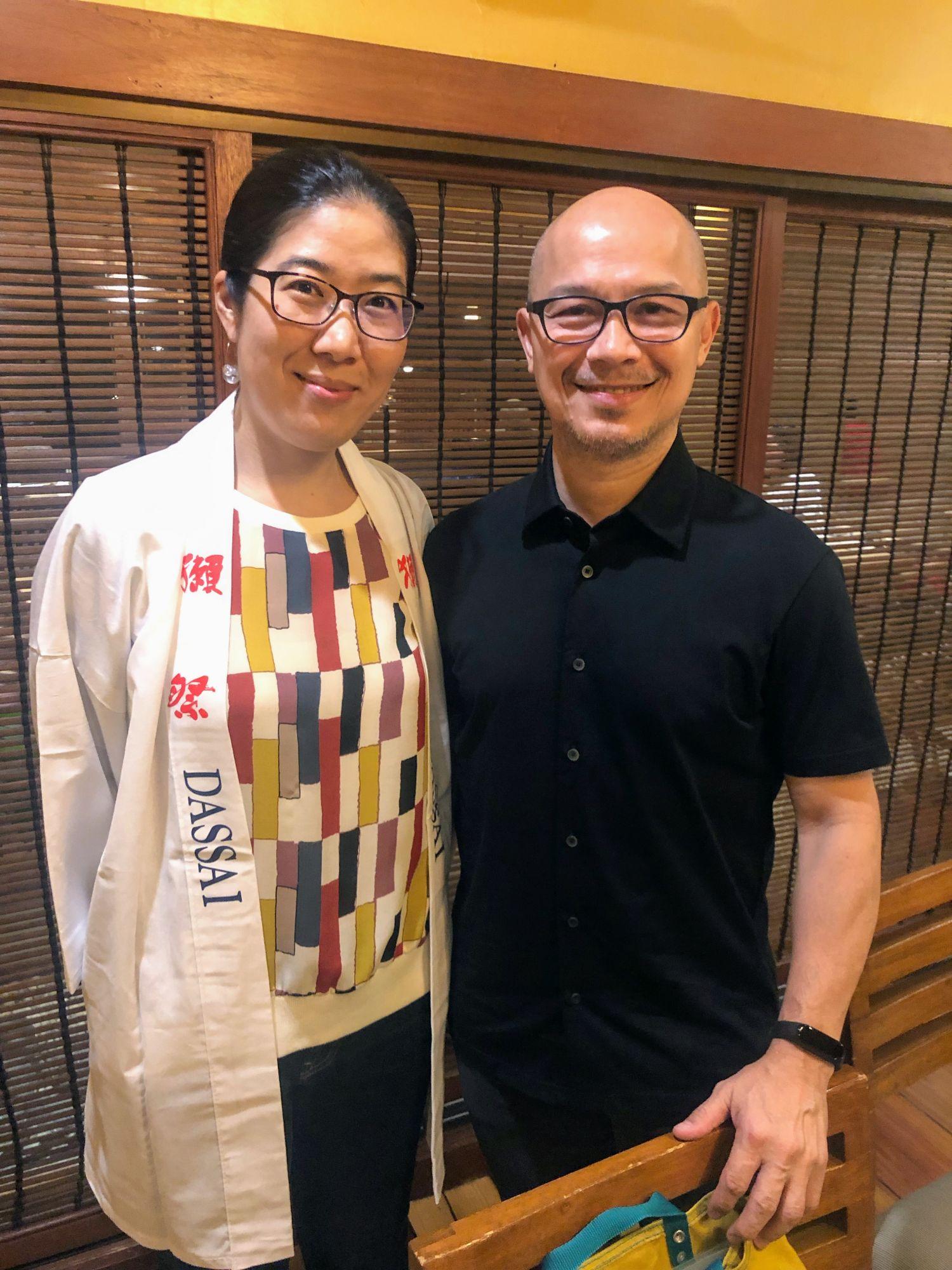 Dassai Sake Kaiseki at Tsukiji