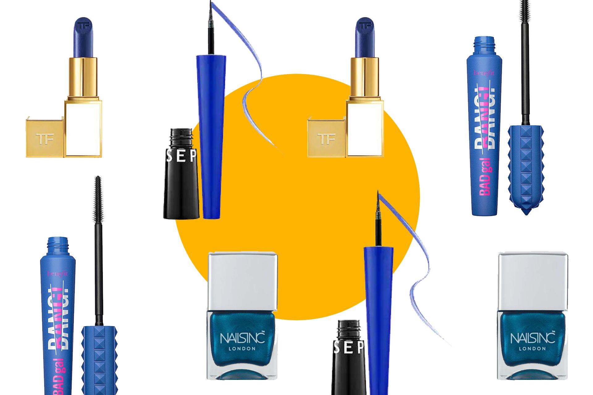 Five Ways To Incorporate 'Classic Blue' Into Your Beauty Look