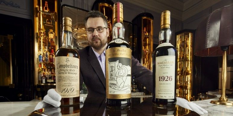 World's 'Largest Collection' Of Rare Whiskies On Sale