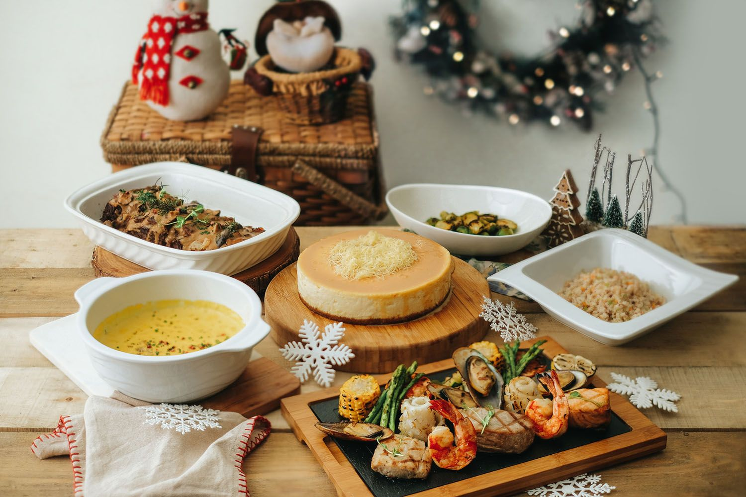 Country Christmas Feast