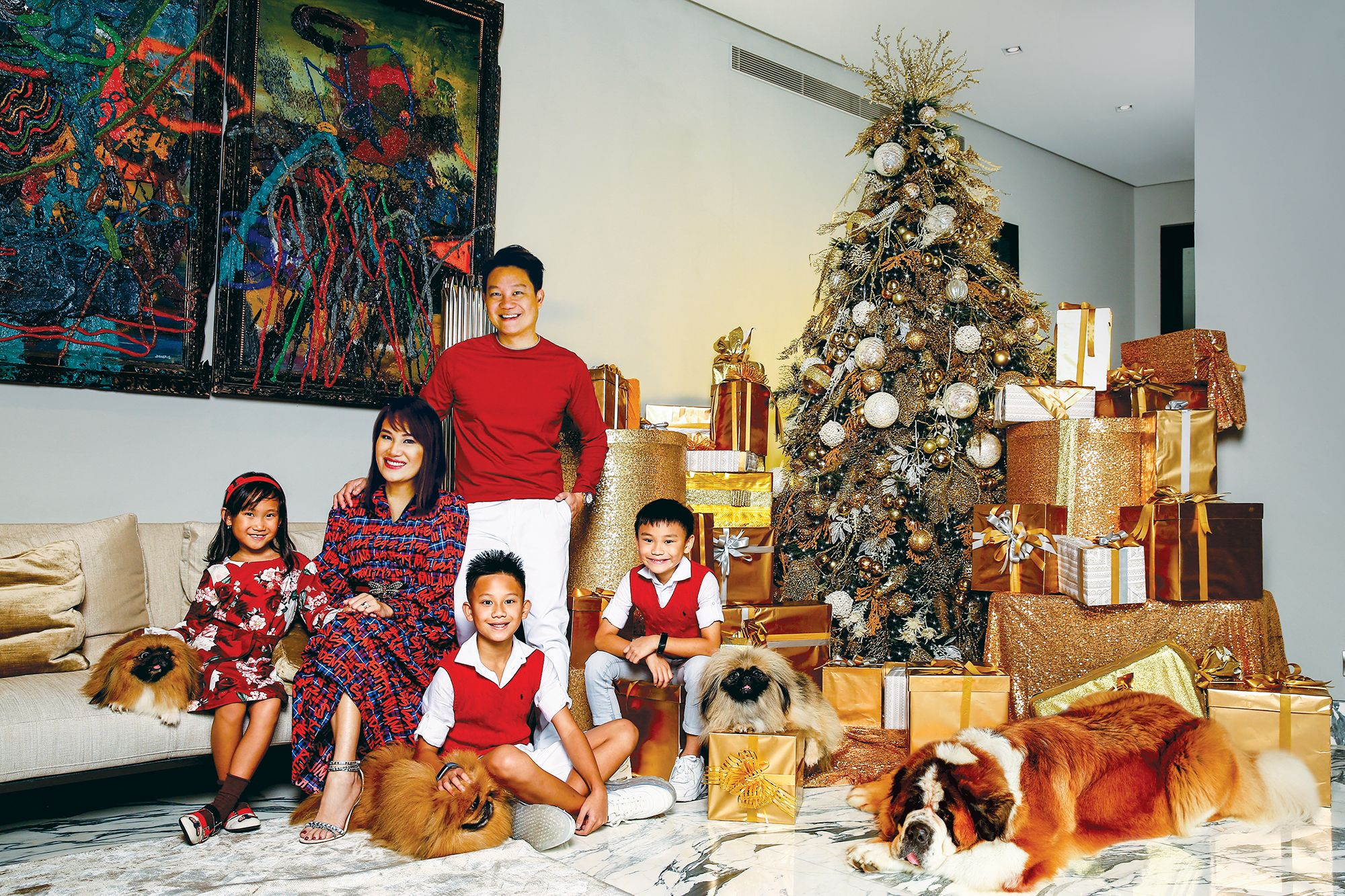 Teos, Prietos, and Huangs Share Their Christmas Traditions and Wishes This 2019