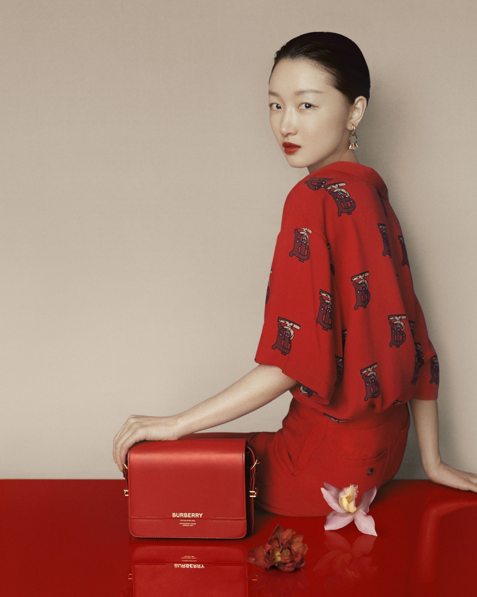 Burberry Chinese New Year 2020 campaign  © Courtesy of Burberry / Leslie Zhang