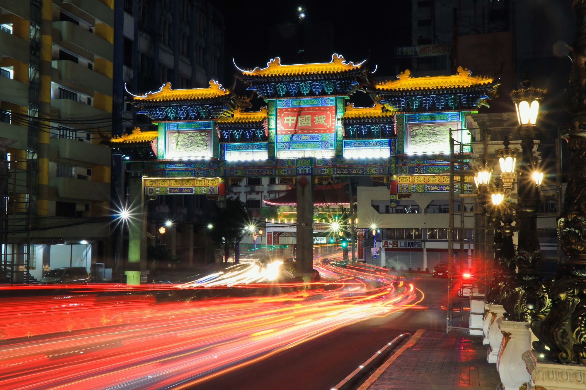 The New Binondo Arch Photographed by Kryss Rubio