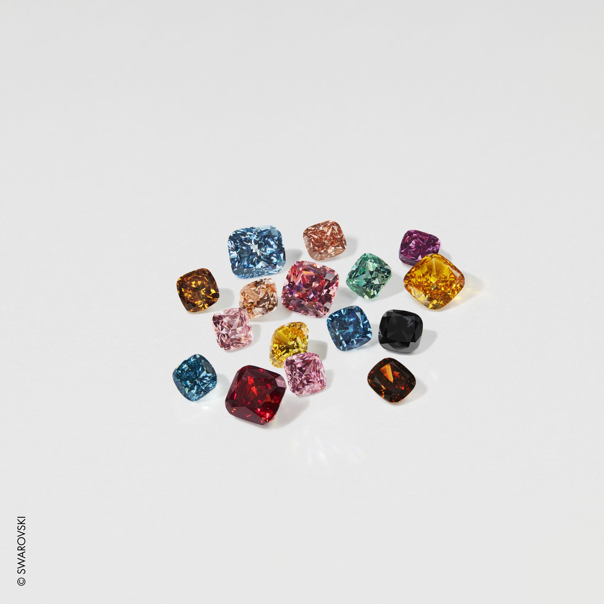 Swarovski Created Diamonds in new colors for 2020  © Swarovski