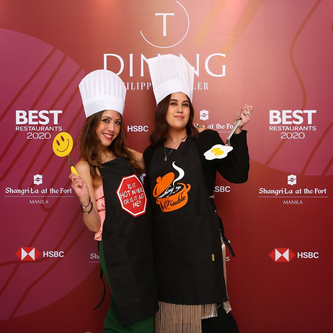 Inside the Photobooth at T.Dining's Best Restaurants Guide 2020 Launch