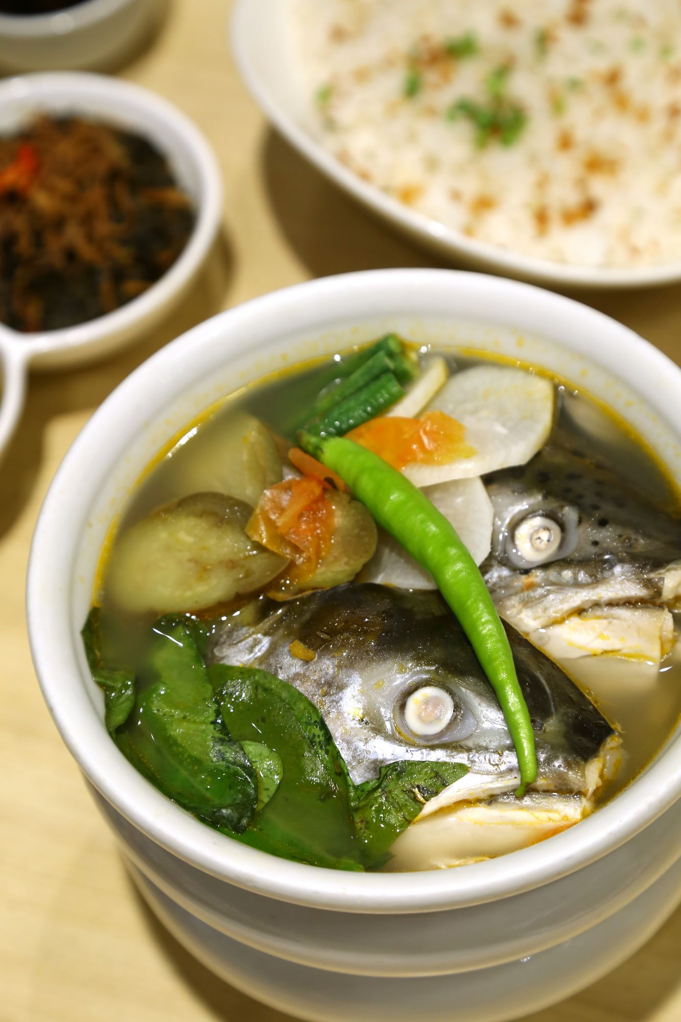sinigang na salmon head