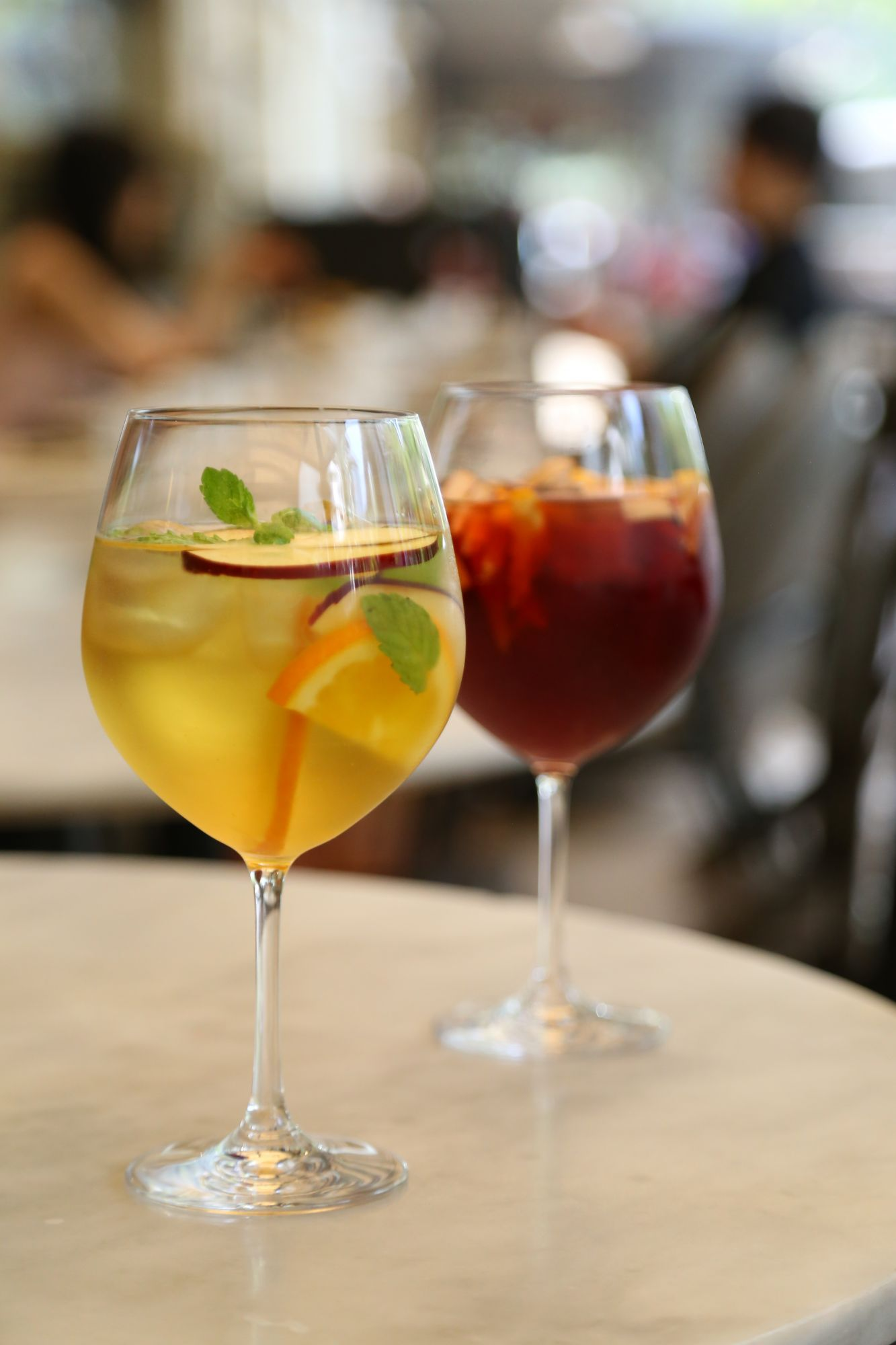 White and Red Sangria
