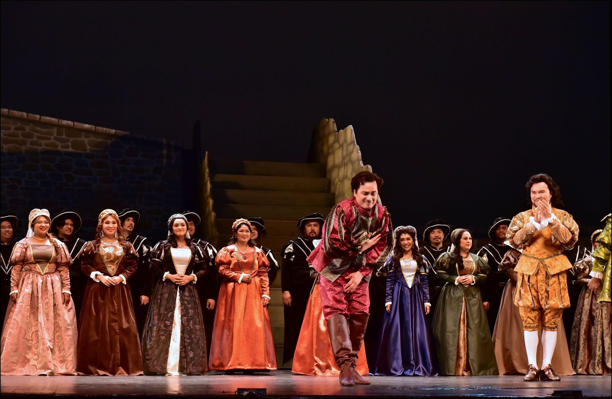 A Night at the Opera: Lucia di Lammermoor by Gaetano Donizetti at the CCP