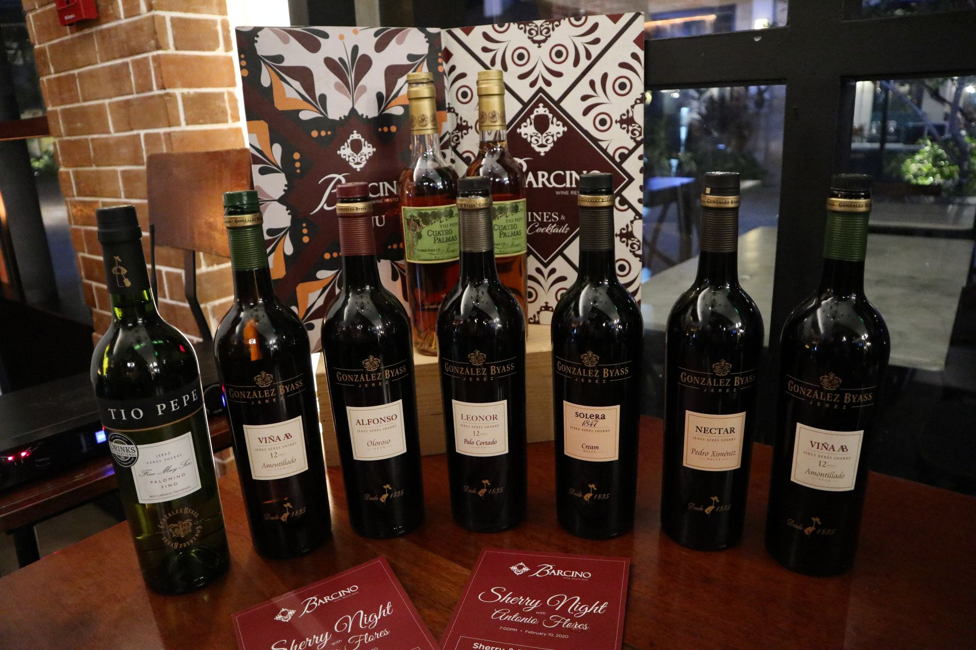 Barcino Holds Its Very First Sherry Night With Antonio Flores