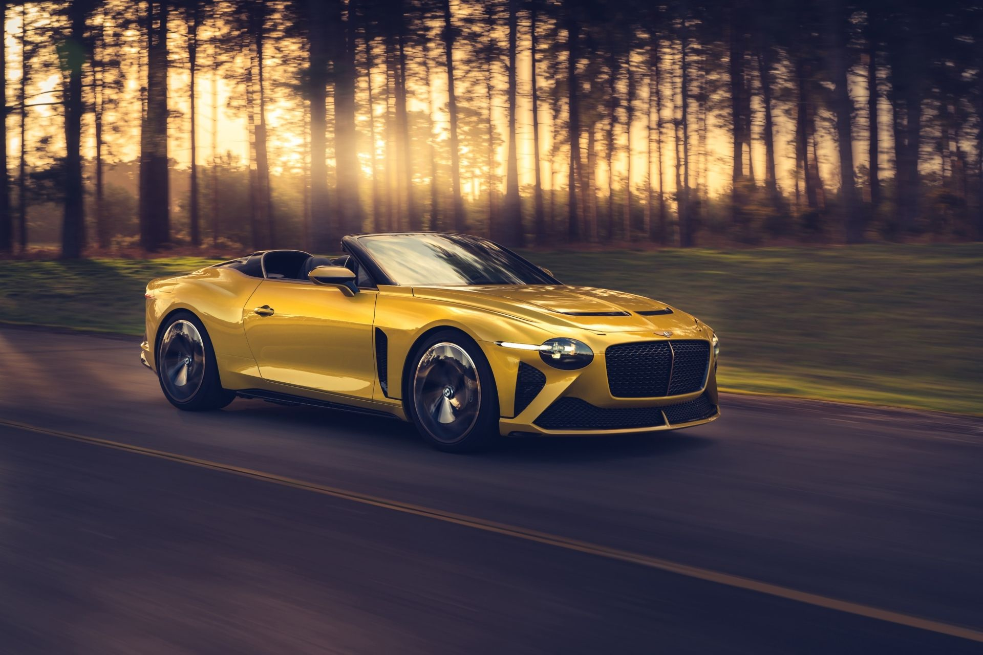 Bentley Unveils The Mulliner Bacalar Two-Seater
