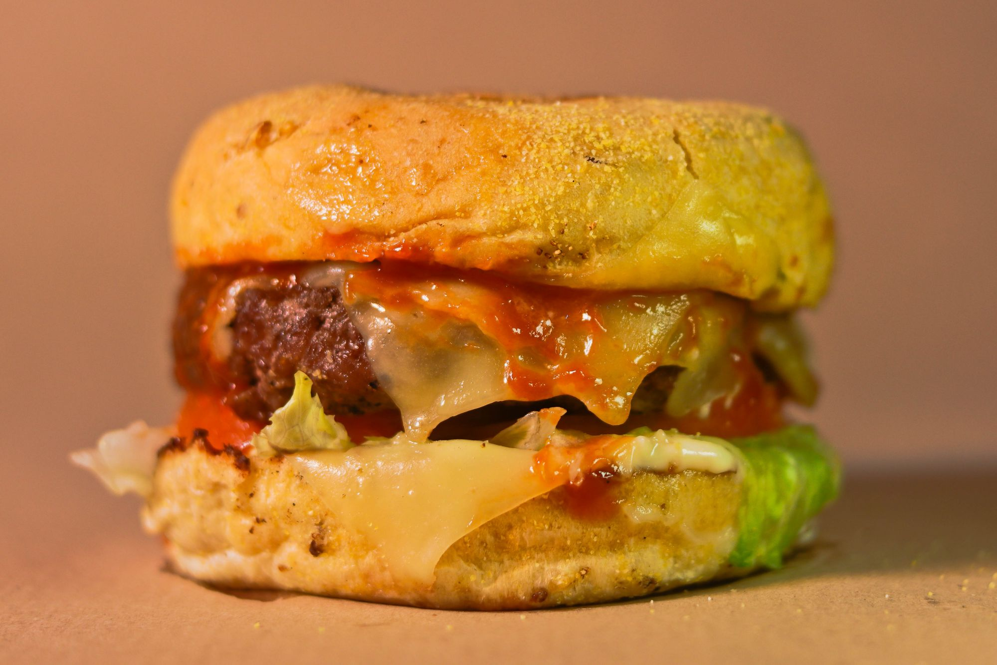 Raging Bull Knock-Out Burger