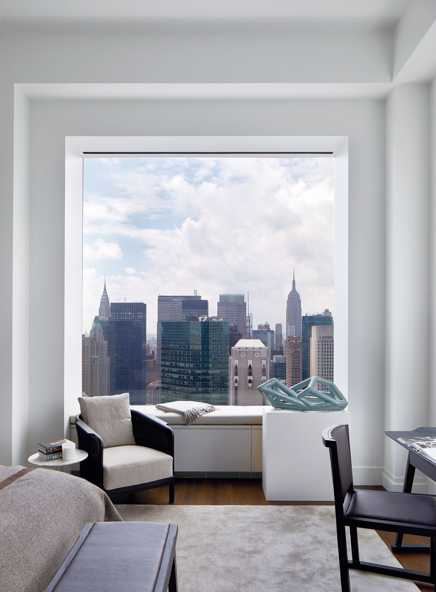 Home Tour: This Penthouse In New York Exudes A Museum's Formal Elegance