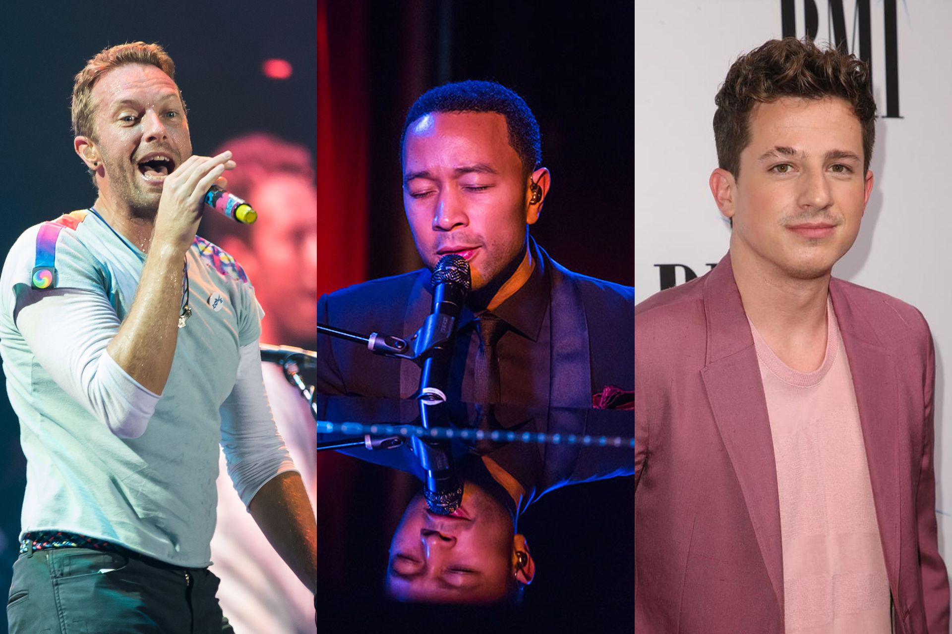 #TogetherAtHome: Chris Martin, John Legend, Charlie Puth & More Give Us Daily Concert Treats