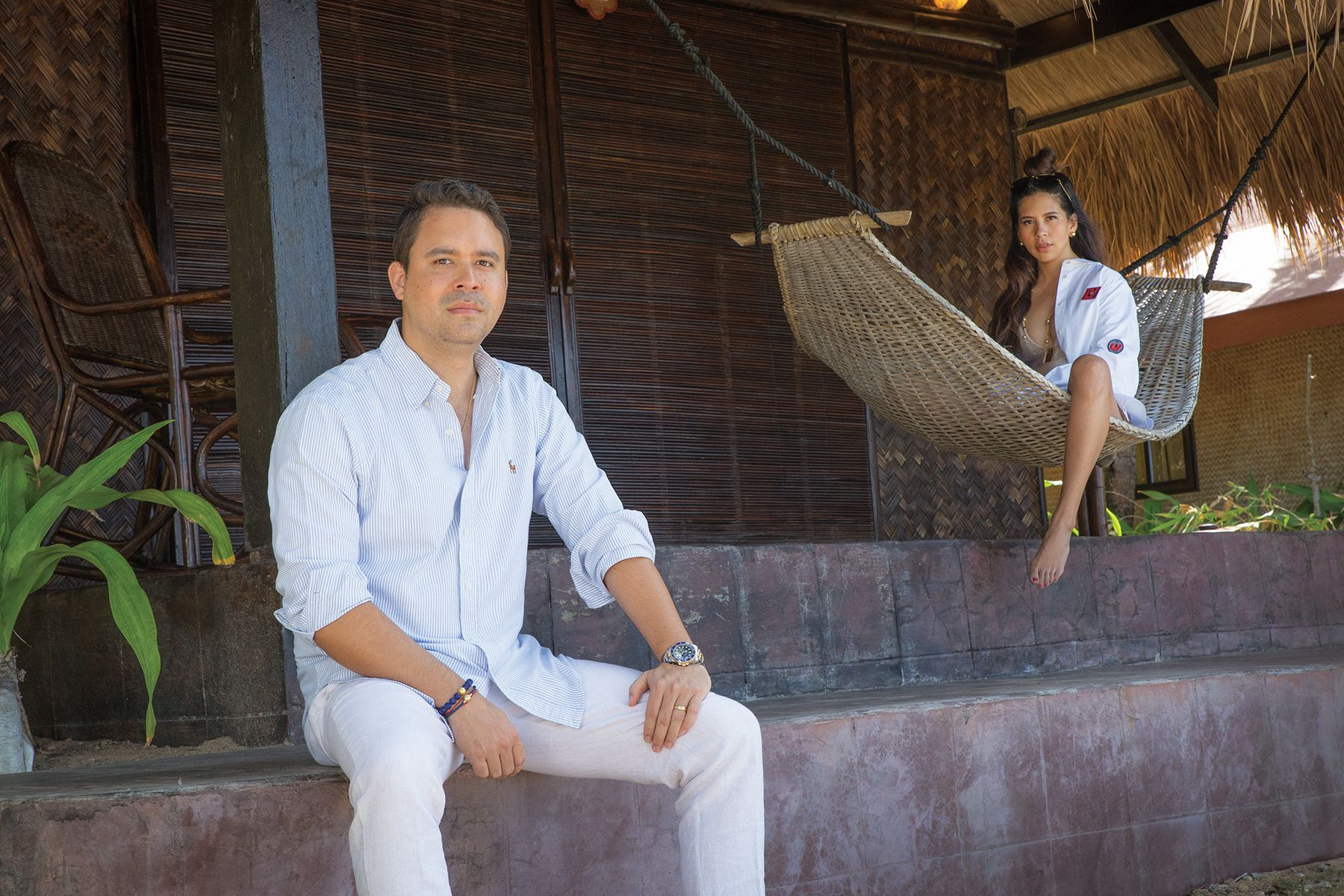 Jacques Christophe and Mia Branellec on Living Sustainably