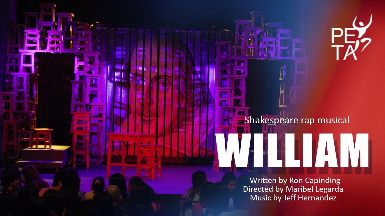 """PETA Launches Youtube Channel With Shakespeare Rap Musical""""William"""""""
