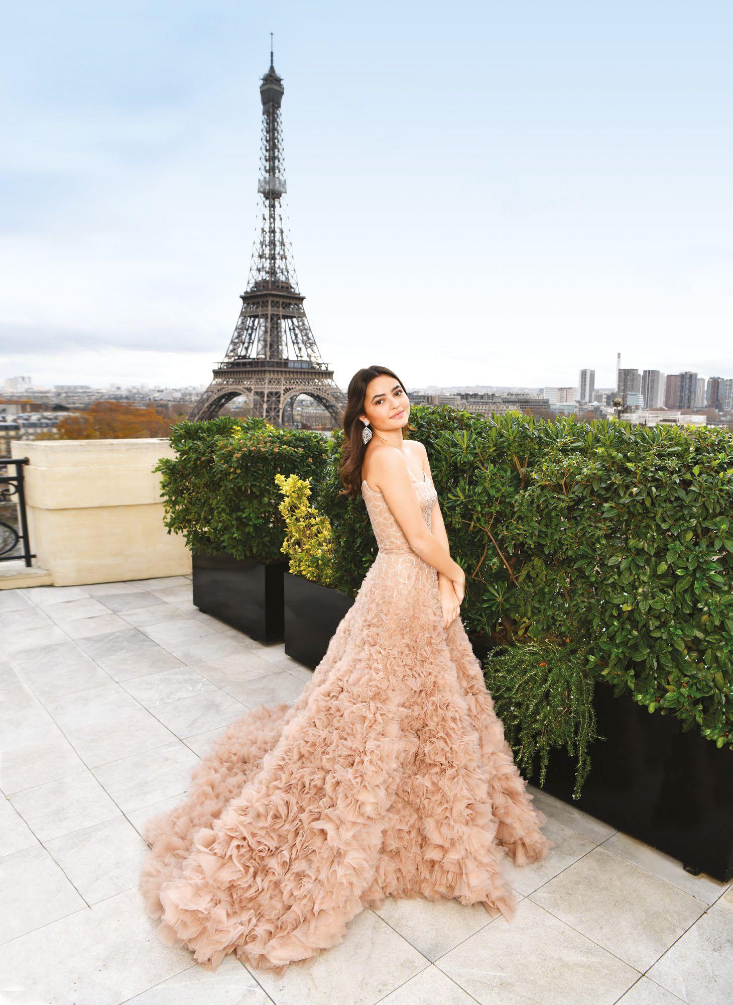 Rocio Zobel At The Le Bal des Débutantes 2019