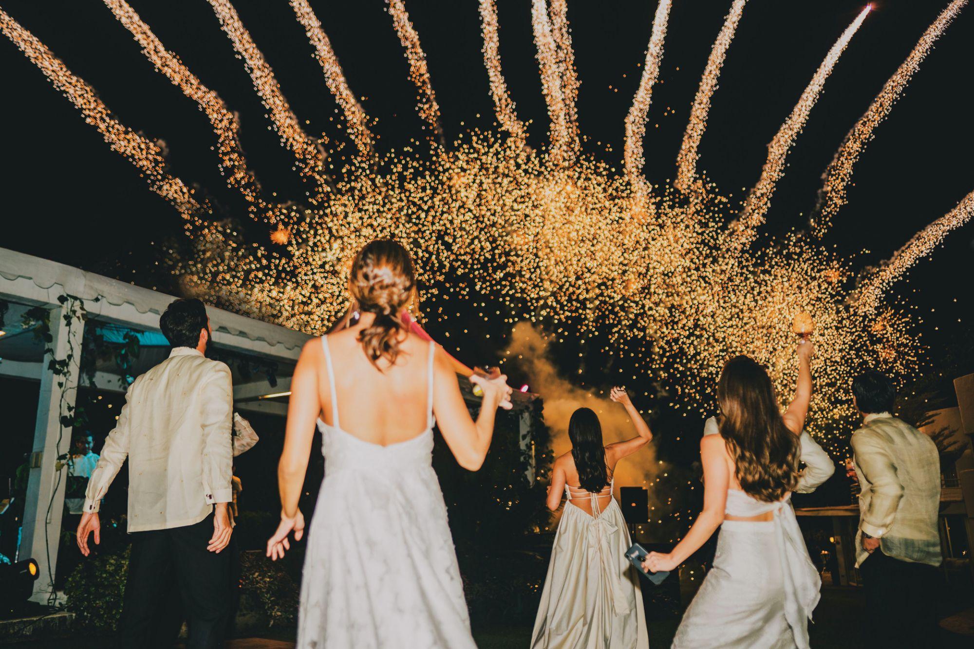 Maica Salud Weds Dr. Benny Tady In A Beautiful Bataan Beach Wedding