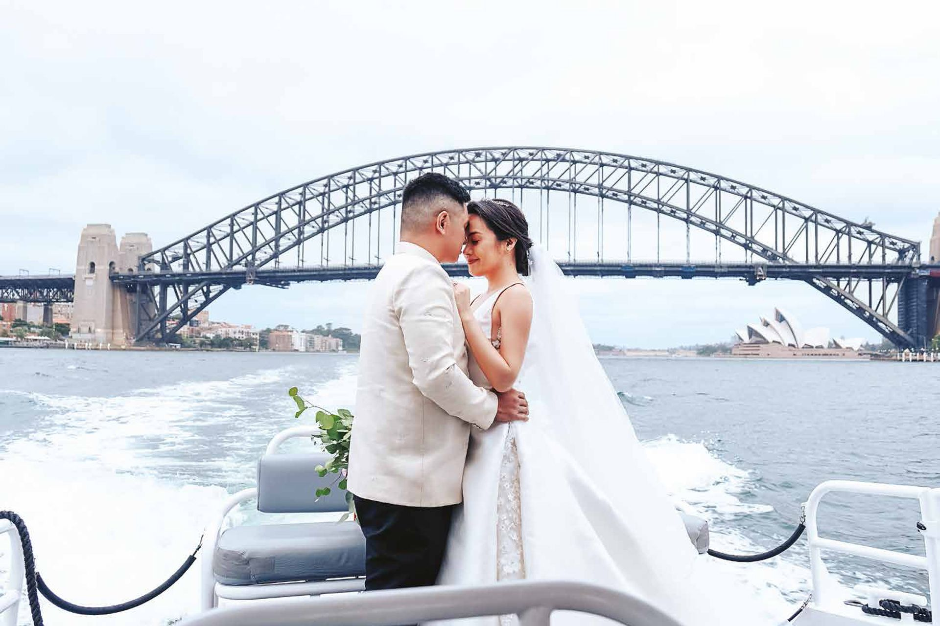 Step Inside Michelle Barrera & Santi Juban's Australian Wedding