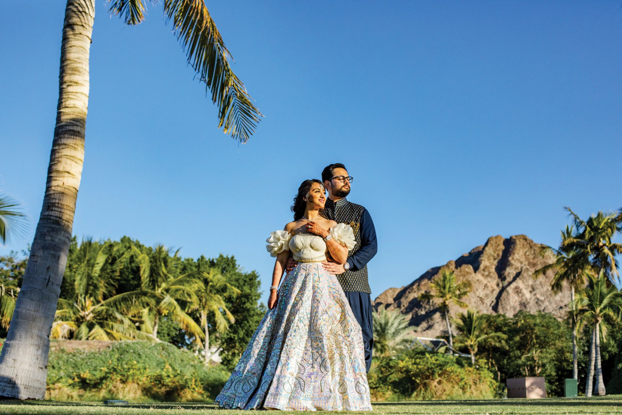 Take A Look At Roma Hemlani & Jaskaran Singh's Spectacular Destination Wedding In Oman