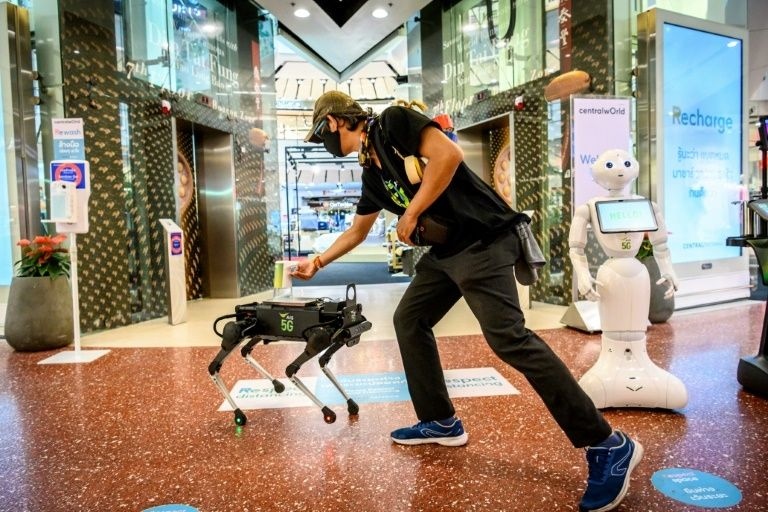 Robotics In The Time Of Coronavirus: How Thailand Is Utilising Robot Dogs To Stop The Spread Of The Virus
