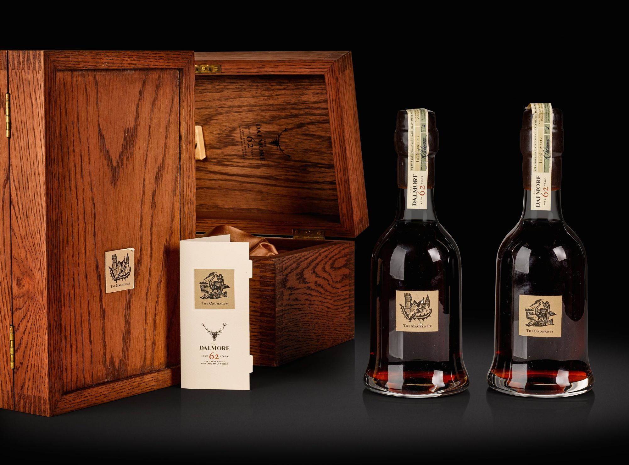 Rare Dalmore 62 Sold For £266,200 At Auction