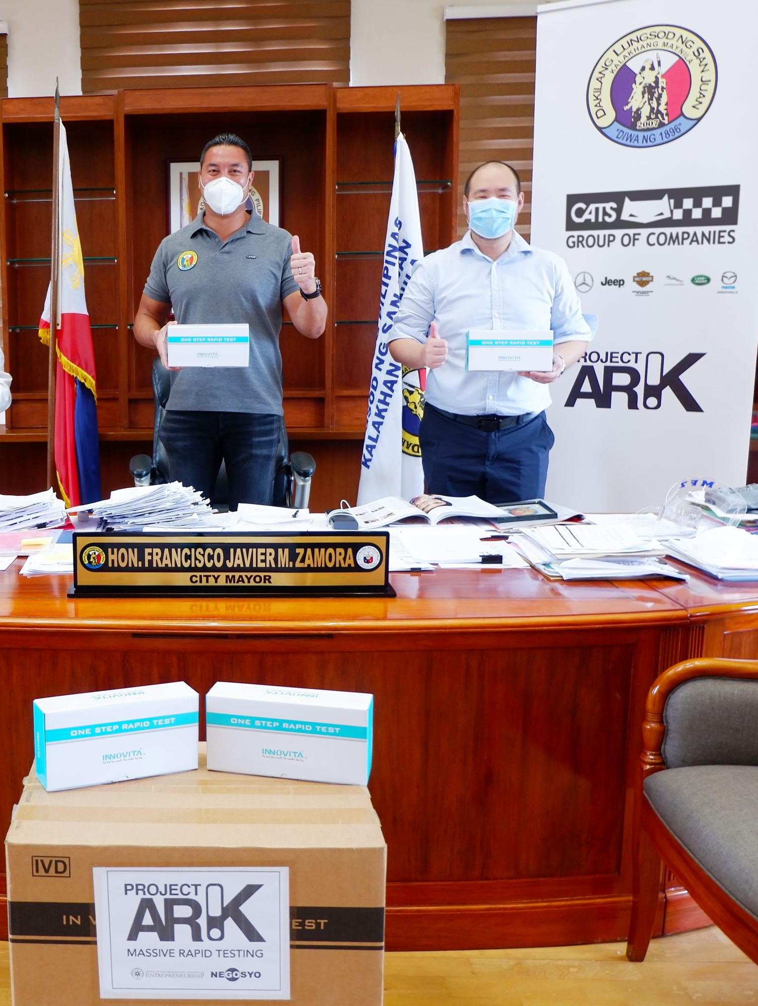 Auto Nation Group donates COVID-19 Rapid Test Kits to San Juan